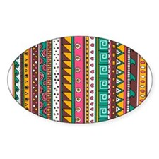 Colorful Tribal Pattern Decal