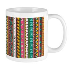 Colorful Tribal Pattern Mug