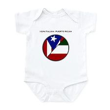 Italian / Puerto Rican Infant Creeper
