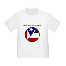 Italian / Puerto Rican T