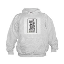Calavera with Bottle Hoodie