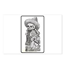 Calavera with Bottle Postcards (Package of 8)