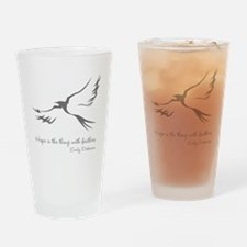 Feathered Hope Drinking Glass