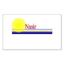 Nasir Rectangle Decal