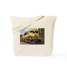 Alaska Railroad engine Tote Bag