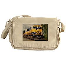 Alaska Railroad engine Messenger Bag