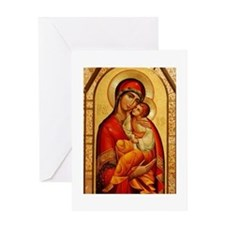 Mary The God-Bearer Greeting Card