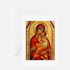 Mary The God-Bearer Greeting Card