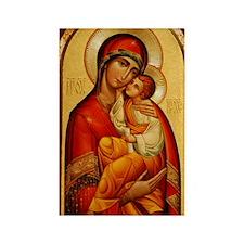 Mary The God-Bearer Rectangle Magnet (10 pack)