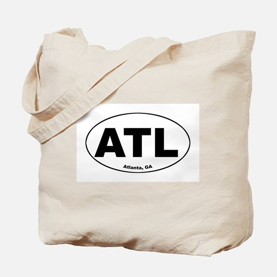 ATL (Atlanta, GA)  Tote Bag