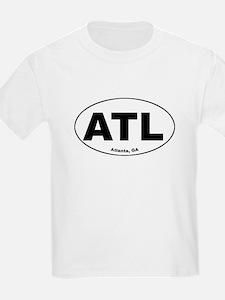 ATL (Atlanta, GA) Kids T-Shirt