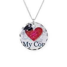 I Love My Cop Necklace