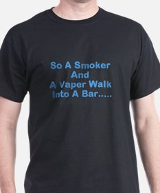 The Vaper and The Smoker T-Shirt