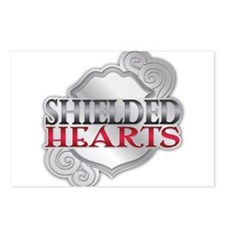 Shielded Hearts Logo - Stage 2 (Badge) Postcards (