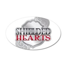 Shielded Hearts Logo - Stage 2 (Badge) Wall Decal