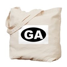 GA (Georgia) Tote Bag