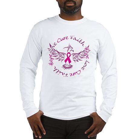 Faith Love Hope Cure Long Sleeve T-Shirt