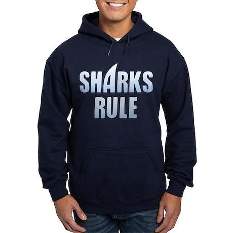 Sharks Rule Hoodie (dark)