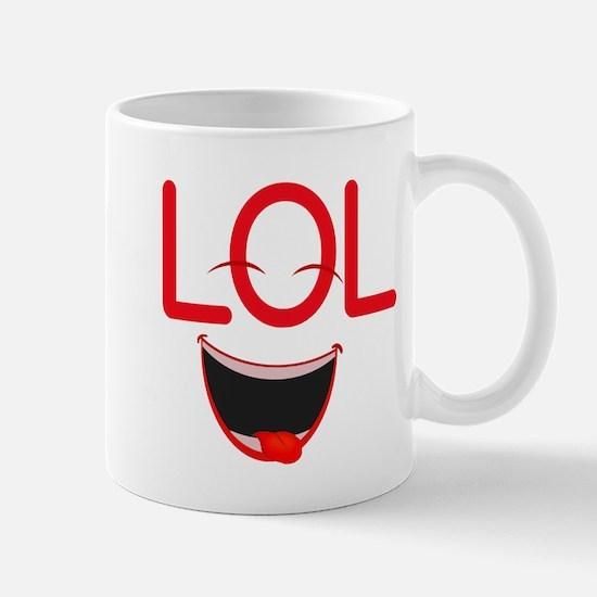 LOL laugh out loud Mug