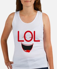 LOL laugh out loud Women's Tank Top