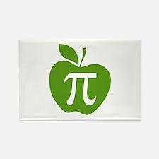Green Apple Pi Math Humor Rectangle Magnet