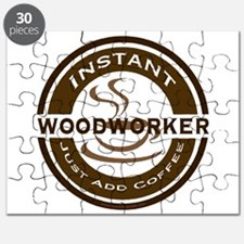 Instant Woodworker Coffee Puzzle