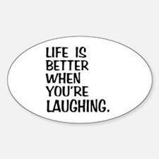 Better Laughing Decal