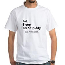 Eat sleep ER doc Light shirts.PNG Shirt