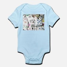 Lets Roll - White Dice Infant Bodysuit