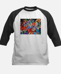 Lets Roll - Colourful Dice Tee