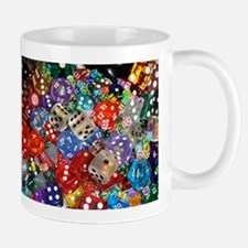Lets Roll - Colourful Dice Mug