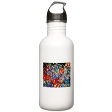 Lets Roll - Colourful Dice Water Bottle
