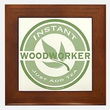 Instant Woodworker Tea Framed Tile
