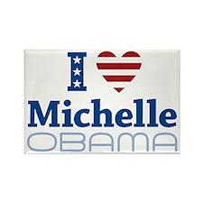 I love Michelle Obama Rectangle Magnet