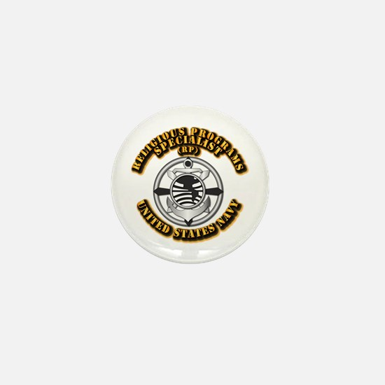 Navy - Rate - RP Mini Button
