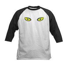 Yellow green cat eyes - halloween Tee