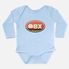 OBX Outer Banks Sunset Long Sleeve Infant Bodysuit