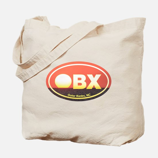 OBX Outer Banks Sunset Tote Bag