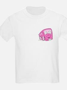 TEACHER'S PINK BUS Kids T-Shirt
