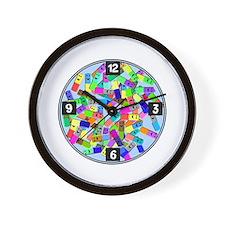 psych nurse clock yellow.PNG Wall Clock