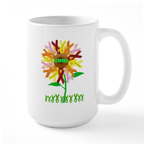 Cure Cancer Large Mug