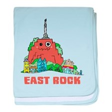 East Rock baby blanket