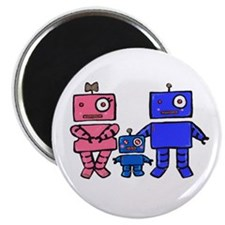 Robot Family Magnet