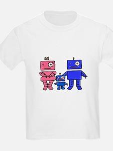 Robot Family T-Shirt