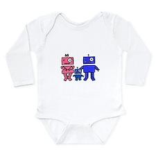 Robot Family Long Sleeve Infant Bodysuit