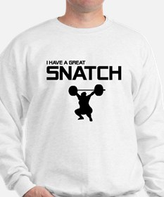 Snatch/Jerk - 2-sided Sweatshirt