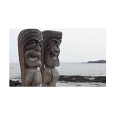 Place of Refuge Tikis - Wall Decal