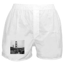 Vintage Golden Gate Bridge Boxer Shorts