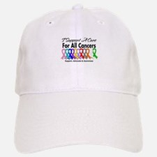 I Support A Cure For All Cancers Baseball Baseball Cap