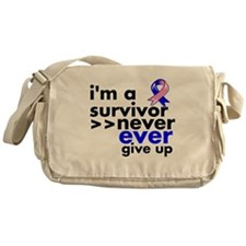 Survivor Male Breast Cancer Messenger Bag
